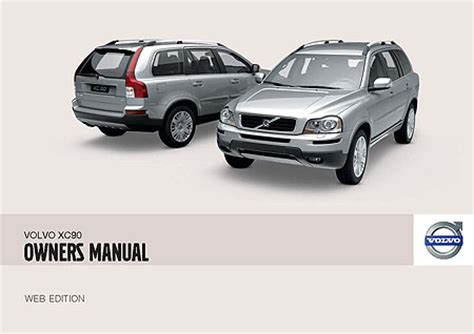 owners manual    volvo xc  volvo xc