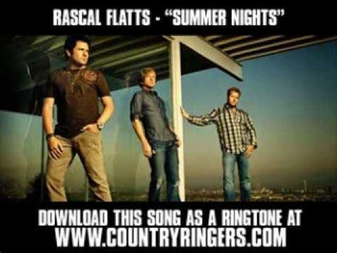 Rascal Flatts Summer Nights [ New Video + Lyrics