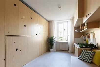 Studio Apartment Space Saving Milan Meter