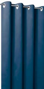 Rideau Blanc Et Bleu : rideau occultant unis rideaux occultants sur mesure ~ Teatrodelosmanantiales.com Idées de Décoration