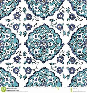 Abstract Turkish Pattern For Your Design Stock Vector ...