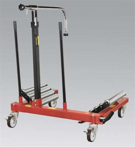 sealey w1200t wheel removal trolley 1200kg capacity ccw tools