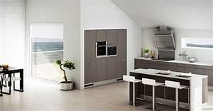 cuisines hygna modles indogate cuisine moderne en bois With meuble de cuisine ilot central 7 cuisine hygena belgravia blanc pas cher sur cuisine