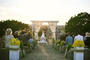 modern rustic vintage yellow grey ranch wedding