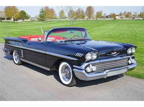 1958 Chevrolet Impala For Sale On Classiccarscom 41