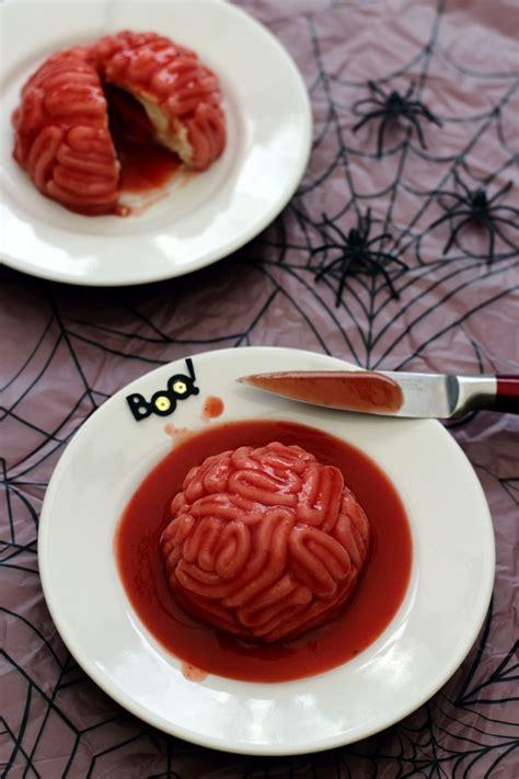 cervelle cuisine cervelle ensanglantée un dessert bluffant pour