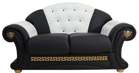 what is a settee sofa versace 2 seater sofa settee genuine italian black white