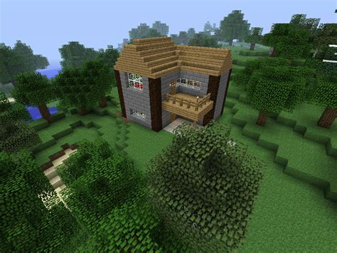 basic house minecraft map