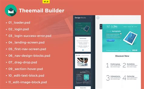 email template builder price revised from 1 to 5 for wp themes html email templates psd files and plugins theem on