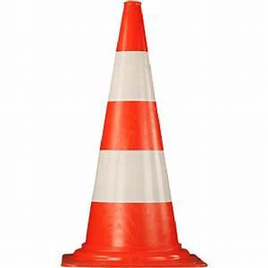 Cone De Chantier : c ne pvc 75cm novap ~ Edinachiropracticcenter.com Idées de Décoration