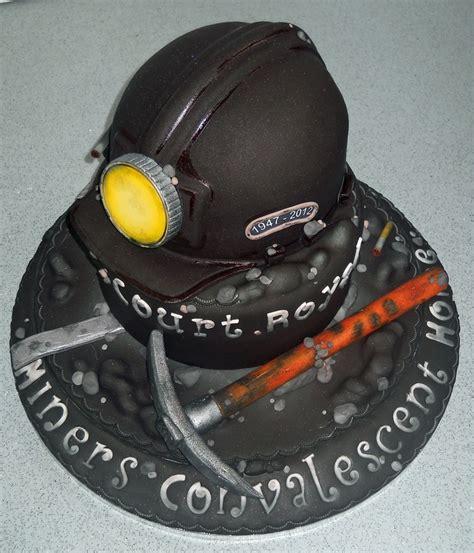 coal mining themed cake cake recipes pinterest coal