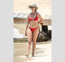 Loose Women S Andrea Mclean Dons Bikini In Caribbean With Nick Feeney Daily Mail Online