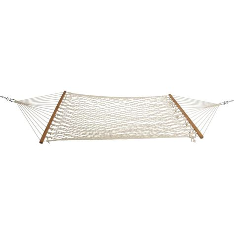 hammock home depot 11 ft polyester cotton rope hammock pad and pillow with