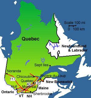 map  quebec city
