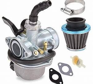 Pz19 Carburetor With 35mm Air Filter Fuel Filter For