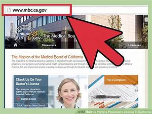 4 Ways To Verify A Physician U0026 39 S License In California