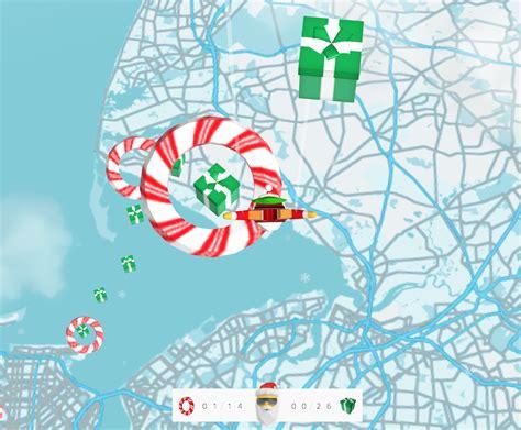 googles santa maps dive lets  control  christmas