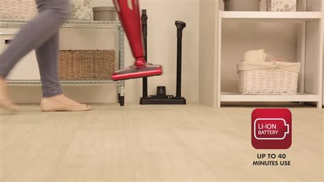 Ewbank® Zest 2-in-1 Cordless Upright Vacuum In Red