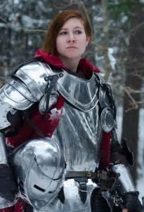 Female Knight Armor