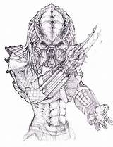 Predator Coloring Pages Drawing Alien Vs Sketch Face Print Easy Drawings Sketches Cartoon Avp Predators Tattoo Xenomorph Mask Movie Brilliant sketch template