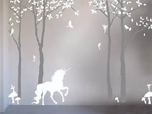 bambizi magical unicorn wall sticker With unicorn wall decal