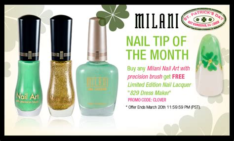 milani cosmetics green envy polish galore