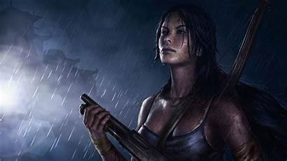 Lara Croft Games Characters Raider Tomb Wallpapers