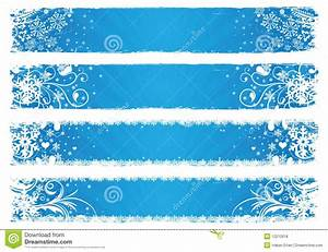 Vector banners for winter stock vector. Image of christmas ...