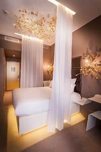 Rideau Pour Chambre : la s paration de pi ce amovible optez pour un rideau ~ Melissatoandfro.com Idées de Décoration