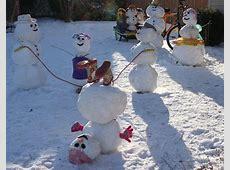 Schneemann bauen mit Kindern Die schönsten Schneemänner