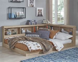Oliah, Full, Bookcase, Storage, Bed, By, Millennium, By, Ashley