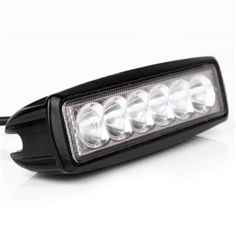 small led light bar mini 6 inch led light bar 18w offroad led bar led