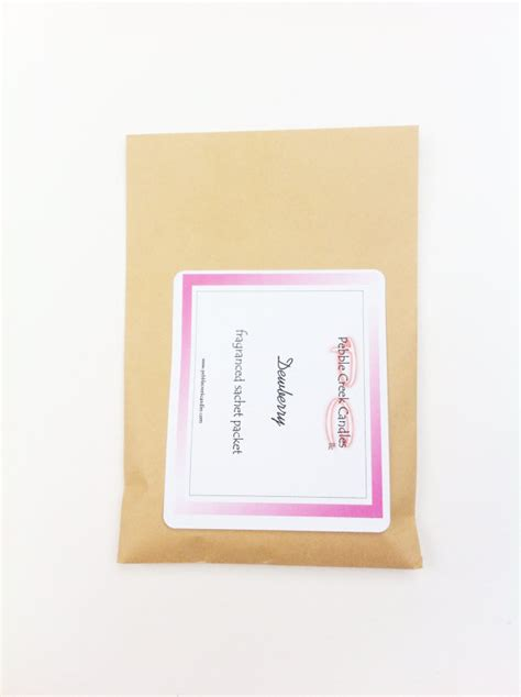 dewberry potpourri sachets scented by