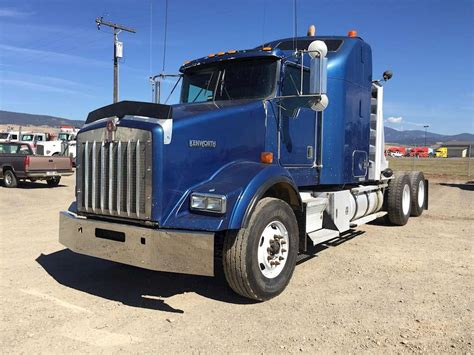 2001 kenworth for sale 2001 kenworth t800b sleeper truck for sale missoula mt