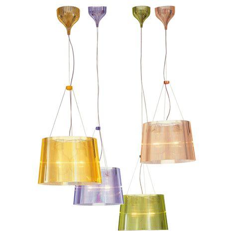 kartell chandelier kartell g 233 pendant l transparent e27 iba max 9080