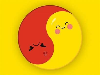 Yang Yin Emoji Ying Copy Icon Dribbble