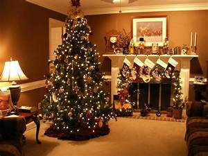 Christmas fireplace fire holiday festive decorations 4 ...