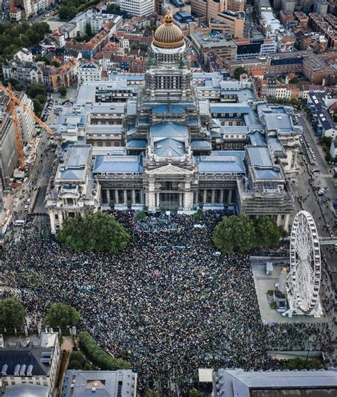 Brussels Today In 2020 Protests Today Blm Drone