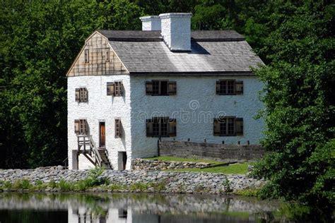 Sleepy Hollow, Philipsburg Manor House Royalty Free Stock