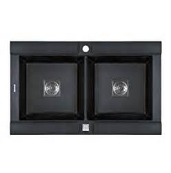 pegasus ge20mb granite double bowl kitchen sink metallic