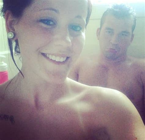 Jenelle Evans Nathan Griffith Shower Selfie Too Cute Or
