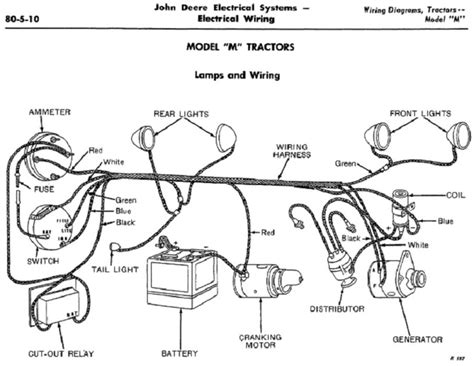 Ford Model A 12 Volt Wiring Diagram by Jd Mt Wiring Deere Forum Yesterday S Tractors