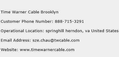 phone number to time warner cable time warner cable customer service phone number