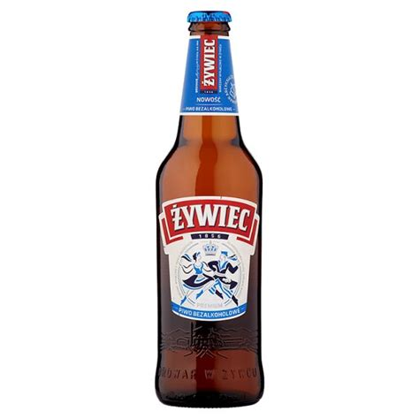 Piwo żywiec Bezalkoholowe Butelka , 1 Szt0,500 Litr