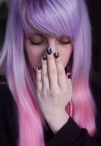 Pastel purple to pink ombre hair | Color Melt/Omber ...