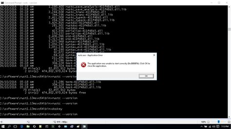rust server tp5 issues windows error rustc tesv exe correctly unable application start language programming