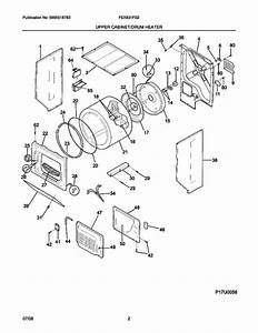 Frigidaire Fex831fs2 Washer  Dryer