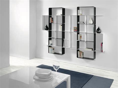 Libreria Metallo Componibile by Libreria A Parete Moderna In Metallo Componibile Design