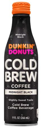 Dunkin' offers a number of packaged coffee varieties that our guests can purchase in our restaurants. Caffeine in Dunkin Donuts Bottled Cold Brew