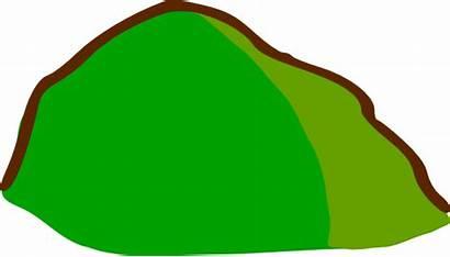 Hill Map Clip Rpg Symbols Clker Svg